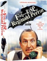 The Fall and Rise of Reginald Perrin: The Complete Series DVD cover art