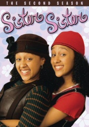 Sister Sister: The Second Season DVD cover art