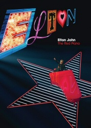 Elton John: The Red Piano DVD cover art