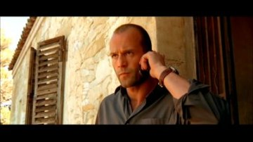 Jason Statham as Frank Martin in The Transporter