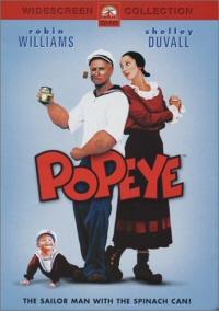 Popeye DVD cover art