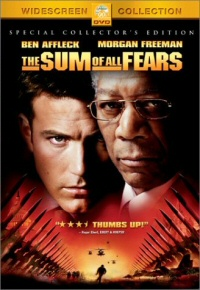 The Sum of All Fears DVD cover art