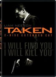 Taken DVD cover art