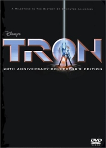 Tron DVD cover art