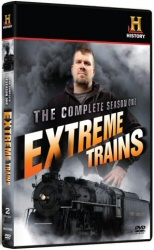 Extreme Trains: The Complete Season One DVD cover art