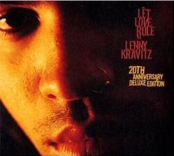 Lenny Kravitz: Let Love Rule CD cover art