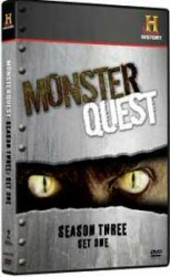 Monster Quest: Season 3, Set 1 DVD cover art