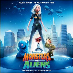 Monsters vs. Aliens Soundtrack cover art