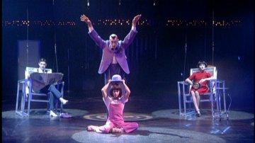 Audrey Brisson-Jutras and John Gilkey from Cirque du Soleil: Quidam