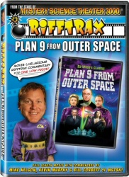 Rifftrax: Plan 9 From Outer Space DVD cover art