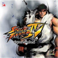 Street Fighter IV soundtrack cover art