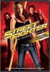 Street Fighter: The Legend of Chun-Li DVD cover art