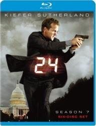 24: Season 7: Blu-Ray cover art
