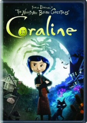 Coraline Single-Disc Edition DVD cover art
