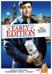 Early Edition: The Second Season DVD cover art