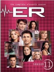 ER: The Complete Eleventh Season DVD cover art