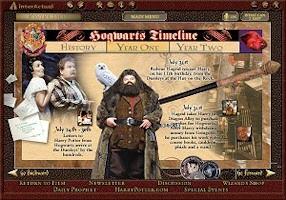 harry potter chamber of secrets hogwarts timeline