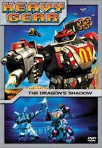 heavy gear volume 1 dvd cover