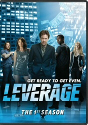 Leverage: The First Season DVD cover art