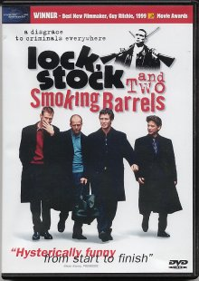 Lock Stock and Two Smoking Barrels DVD cover art