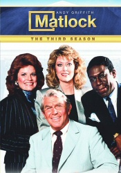 Matlock: The Third Season DVD cover art