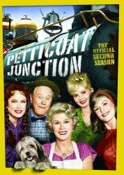 Petticoat Junction: The Official Second Season DVD cover art