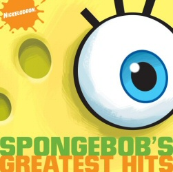 Spongebob's Greatest Hits CD cover art