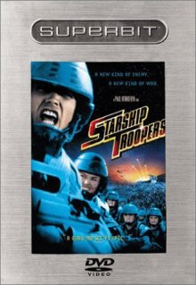 Starship Troopers Superbit DVD cover art