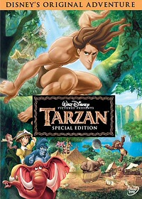 Tarzan (1999) DVD cover art