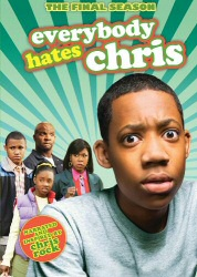 Everybody Hates Chris: The Final Season (Season 4) DVD cover art