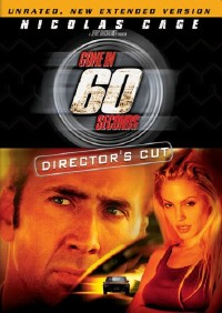 Gone in 60 Seconds DVD cover art