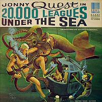 Jonny Quest in 20,000 Leagues Under the Sea vinyl