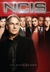 NCIS: The Sixth Season DVD cover art