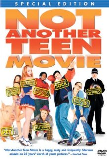 Not Another Teen Movie DVD cover art