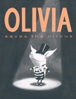Olivia Saves the Circus book cover art