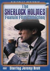 sherlock holmes feature film collection dvd cover