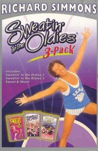 Richard Simmons: Sweatin' to the Oldies 3-Pack DVD cover art