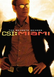 CSI Miami: The Seventh Season DVD cover art