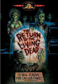 Return of the Living Dead cover art