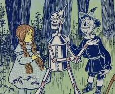 Original Wizard of Oz illustration
