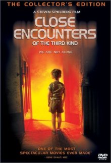 Close Encounters of the Third Kind (single disc) DVD cover art
