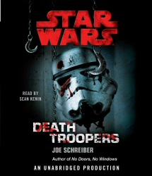 Star Wars: Death Troopers unabridged CD cover art