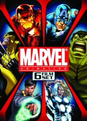 Marvel Animation 6 Film Set DVD cover art
