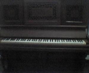 Haunted piano