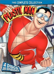 Plastic Man: The Complete Collection DVD cover art