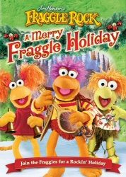 Fraggle Rock: Merry Fraggle Holiday DVD cover art