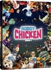 Robot Chicken Season 4 DVD cover art