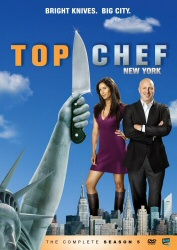 Top Chef: New York: The Complete Season 5 DVD cover art
