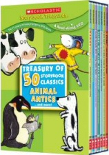 The Treasury of 50 Storybook Classics: Animal Antics and More DVD cover art