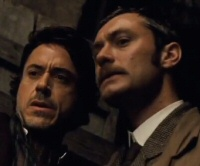 Sherlock Holmes: Robert Downey Jr. and Jude Law